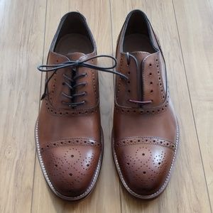 Johnston & Murphy Cap Toe Oxford Shoes